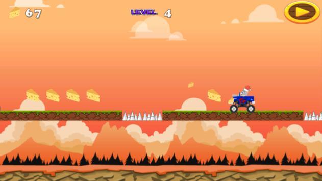 Jerry Cheese Adventure apk screenshot