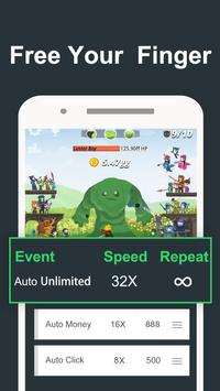 Auto Clicker for Drilla — crafting game poster