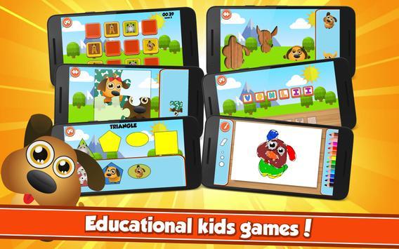 Puppy Patrol Educational Games apk screenshot