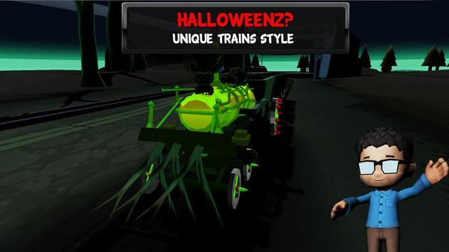 The Train - Ghost simulator poster