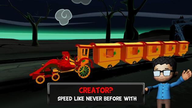 The Train - Ghost simulator apk screenshot