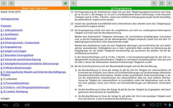 Tarifverträge und Gesetze apk screenshot