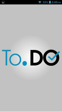 To.Do simple todo list manager poster