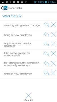To.Do simple todo list manager apk screenshot