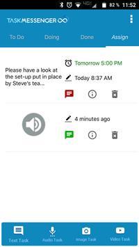 Task Messenger screenshot 2