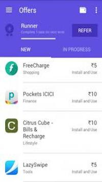 taskbackz mobile recharge poster