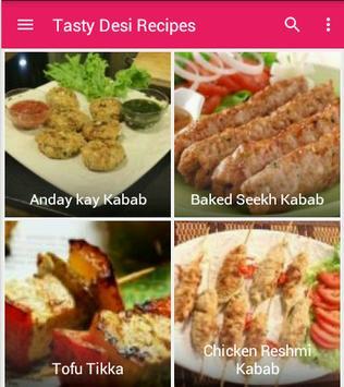 Tasty Desi Recipes screenshot 1