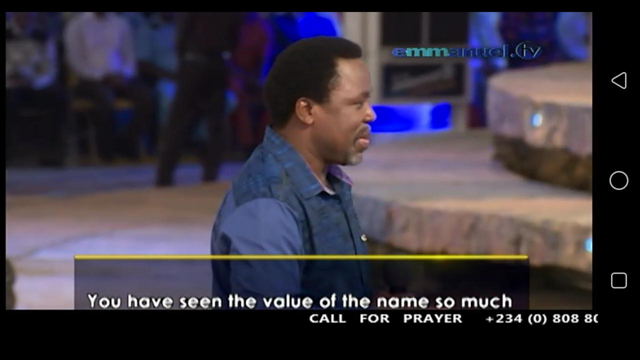 TB JOSHUA TV & HOLY BIBLE for Android - APK Download
