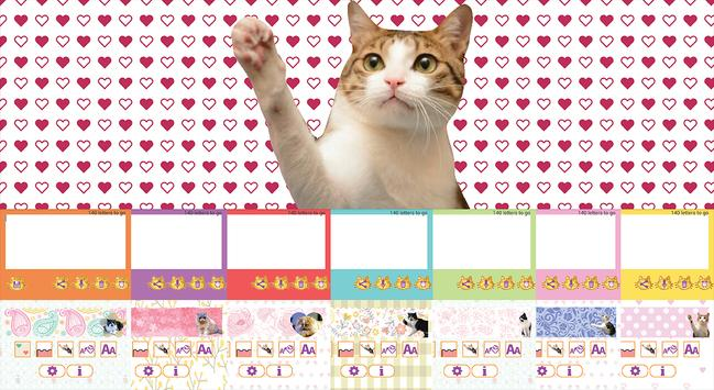 Cat Sticky Memo Notepad Lite poster