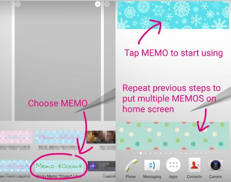 sticky memo notepad ocean lite apk download free personalization