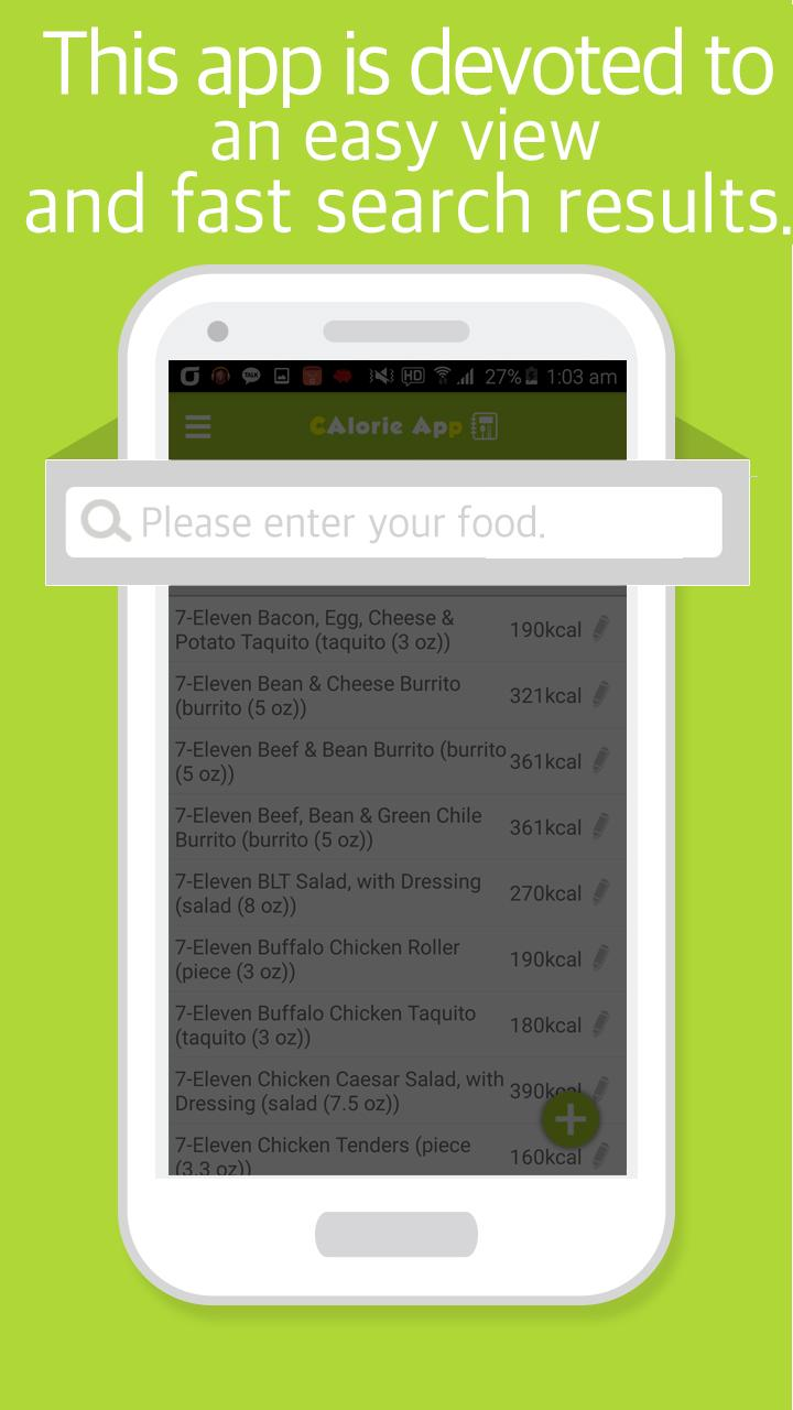 Food Calorie Calculator for Android - APK Download