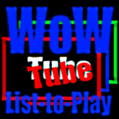 WowTube List-to-Play S icon
