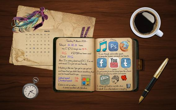 Secret diary with Password poster