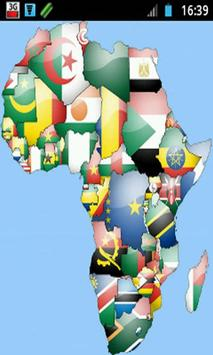 African Flags poster