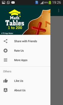 Math Table apk screenshot