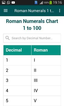 Roman Numerals 1 to 1000 screenshot 3