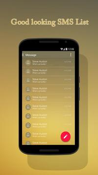 Brown Theme for Suma SMS screenshot 1