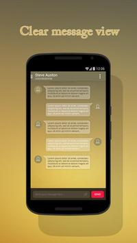 Brown Theme for Suma SMS screenshot 5