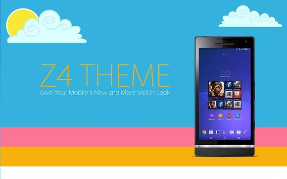 Z4 Launcher and Theme poster