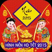 Hình nền tết 2015 HD icon