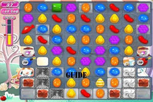 New Guide for Candy Crush Saga Game poster
