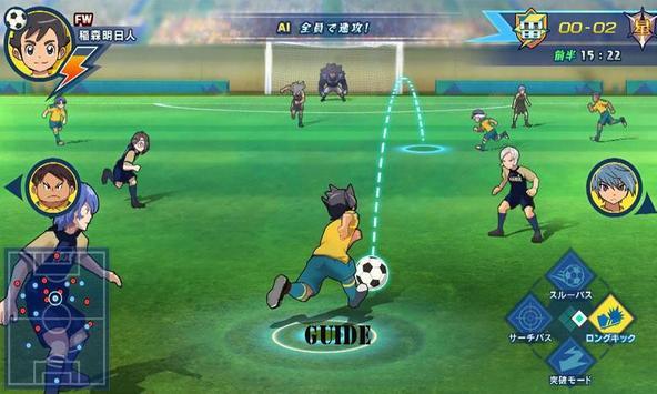 Guide Inazuma Eleven Game apk screenshot