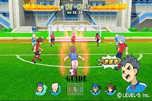 Guide Inazuma Eleven Game poster