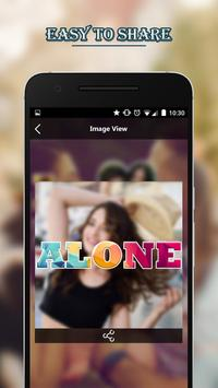 Text Photo Collage Maker with Photo Effect Editor screenshot 3