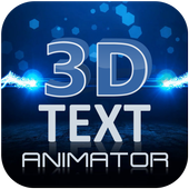 3D Text Animation - Logo Animation, 3D Intro Maker icon