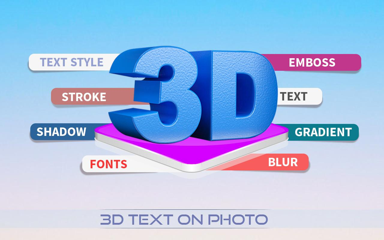 3D Text for Android - APK Download