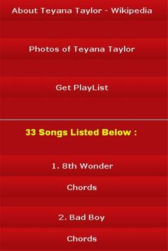 All Songs of Teyana Taylor apk screenshot