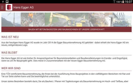 Hans Egger AG apk screenshot