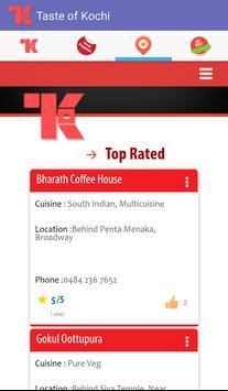 Taste-Of-Kochi apk screenshot