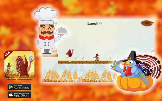 Thanksgiving Turkey Crazy Run screenshot 4