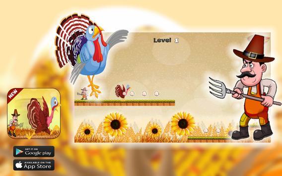 Thanksgiving Turkey Crazy Run screenshot 8