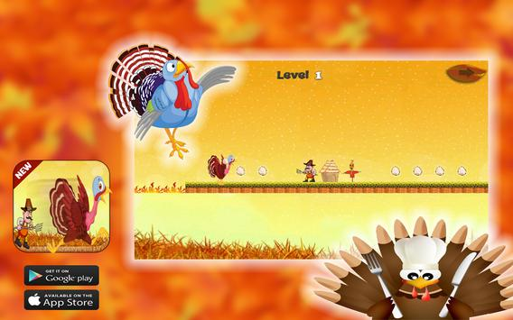 Thanksgiving Turkey Crazy Run screenshot 2