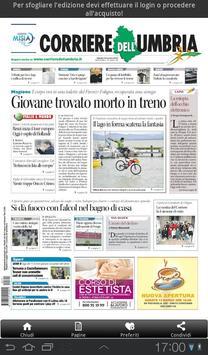 Il Corriere dell'Umbria apk screenshot