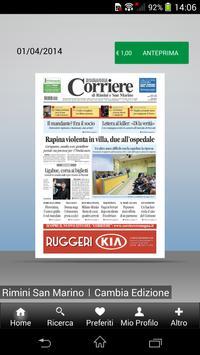 Corriere di Romagna poster