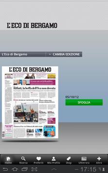 L'Eco di Bergamo poster