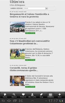 L'Eco di Bergamo apk screenshot