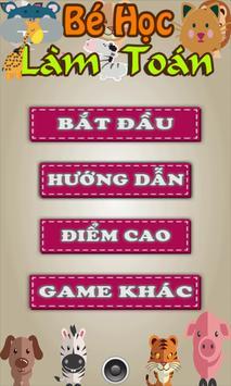 Be hoc lam toan poster