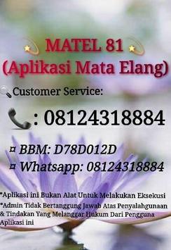Matel 81 aplikasi mata elang poster