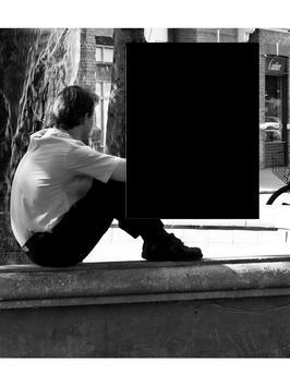Alone Frame || Lonely Photos apk screenshot