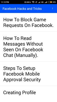 Hacks and Tricks for Facebook for Android - APK Download