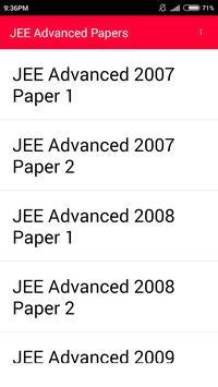IIT JEE Advanced 10 year paper screenshot 4