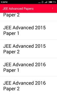 IIT JEE Advanced 10 year paper screenshot 5