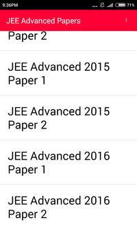 IIT JEE Advanced 10 year paper screenshot 3