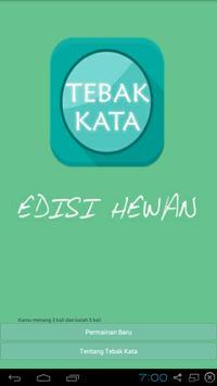 Tebak Kata: Edisi Hewan poster