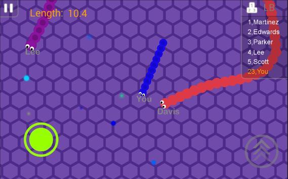 Snake Battle screenshot 2