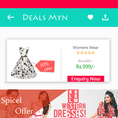 Deals Myn - coupon App icon